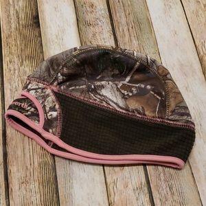 Pink camo winter hat! ❄️